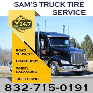 SAM'S TRUCK TIRE SERVICE