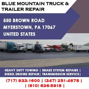 BLUE MOUNTAIN TRUCK & TRAILER REPAIR
