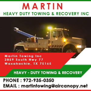 MARTIN Heavy Duty Towing and Recovery, Inc.